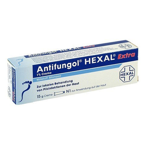Antifungol HEXAL EXTRA 1% 15 Gramm N1