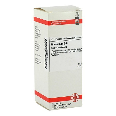 GLONOINUM D 6 Dilution 50 Milliliter N1