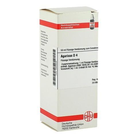AGARICUS D 4 Dilution 50 Milliliter N1