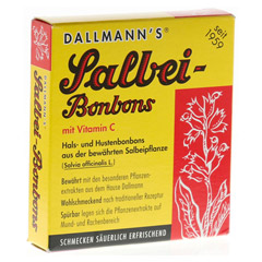 DALLMANN'S Salbeibonbons 20 Stück