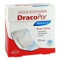 DRACOPOR waterproof Wundverband 8x10 cm steril 25 Stück