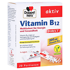 DOPPELHERZ Vitamin B12 DIRECT Pellets 20 St�ck