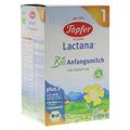 TÖPFER Lactana Bio 1 Pulver 600 Gramm