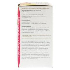 BIO KONJAC Glucomannan Sättigungspulver 135 Gramm - Rechte Seite