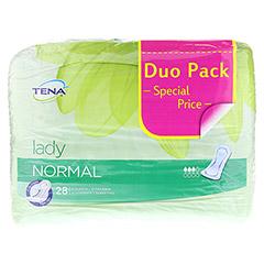 TENA LADY normal Einlagen Duopack 56 Stück - Vorderseite