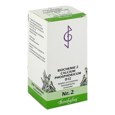 BIOCHEMIE 2 Calcium phosphoricum D 12 Tabletten 200 Stück N2