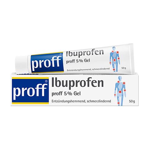 Ibuprofen proff 5% 50 Gramm