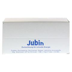JUBIN Zuckerlösung schnelle Energie Tube 12x40 Gramm - Vorderseite