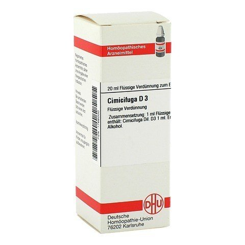 CIMICIFUGA D 3 Dilution 20 Milliliter N1