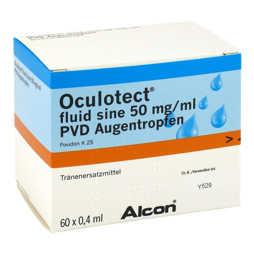 OCULOTECT fluid sine PVD Augentropfen 60x0.4 Milliliter