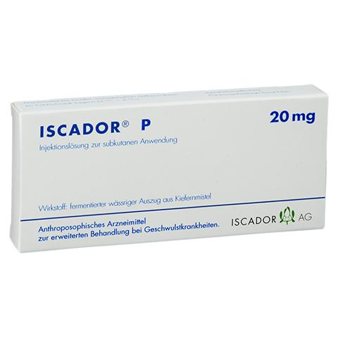 ISCADOR P 20 mg Injektionsl�sung 7x1 Milliliter N1