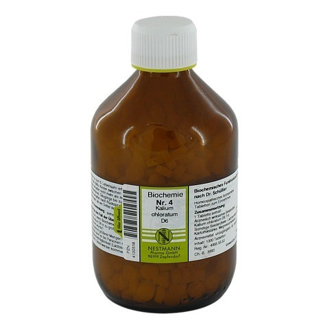 BIOCHEMIE 4 Kalium chloratum D 6 Tabletten 1000 St�ck