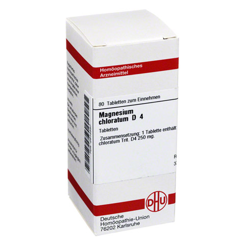 MAGNESIUM CHLORATUM D 4 Tabletten 80 St�ck N1