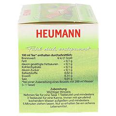 HEUMANN Tee fühl dich entspannt Filterbeutel 20 Stück - Linke Seite