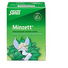 MINZETT Kräutertee Bio Salus Filterbeutel 15 Stück