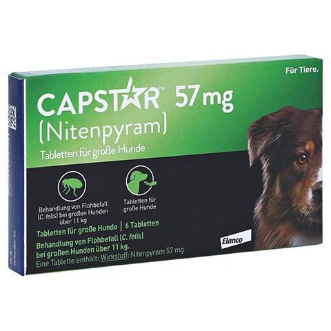 CAPSTAR 57 mg Tabletten f.gro�e Hunde 6 St�ck