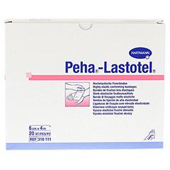 PEHA-LASTOTEL Fixierbinde 6 cmx4 m 20 Stück - Vorderseite