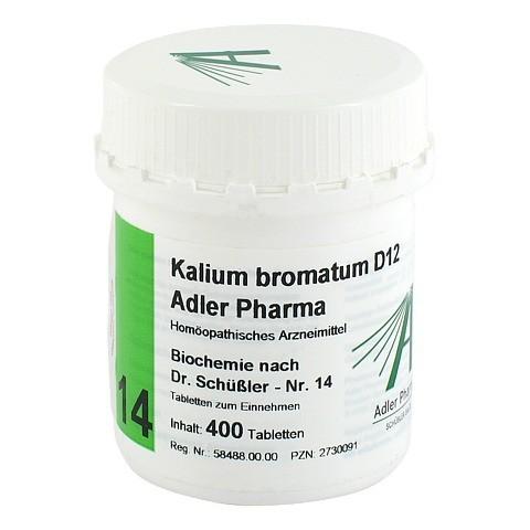 BIOCHEMIE Adler 14 Kalium bromatum D 12 Tabletten 400 Stück