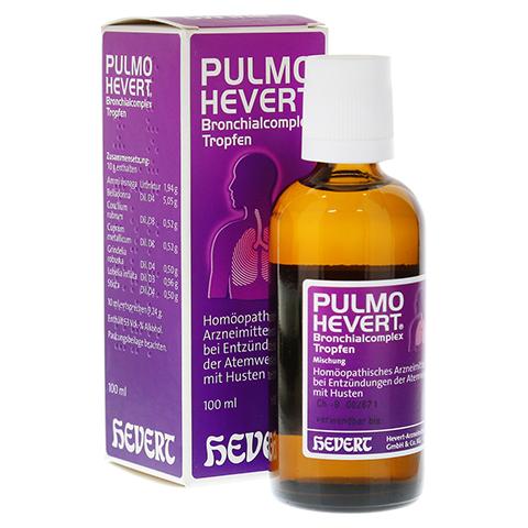 PULMO HEVERT Bronchialcomplex Tropfen 100 Milliliter N2
