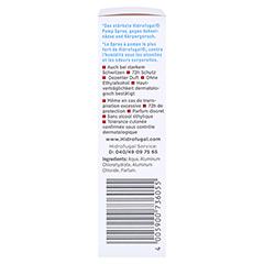 HIDROFUGAL classic Pumpspray höchster Schutz 30 Milliliter - Linke Seite