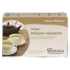 SIDROGA Wellness Entspannungstee Filterbeutel 20 St�ck - R�ckseite