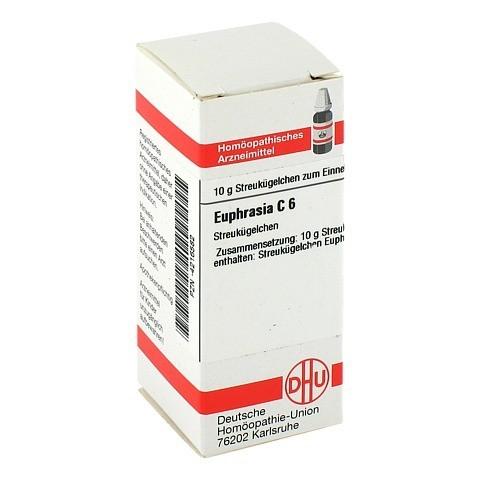 EUPHRASIA C 6 Globuli 10 Gramm N1