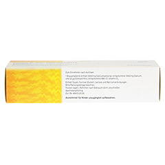 CALCIUM D3 acis 1000 mg/880 I.E. Brausetabletten 20 Stück N1 - Oberseite