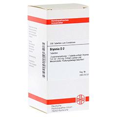 BRYONIA D 2 Tabletten 200 St�ck N2