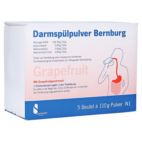 Darmsp�lpulver Bernburg 5x110 Gramm N1
