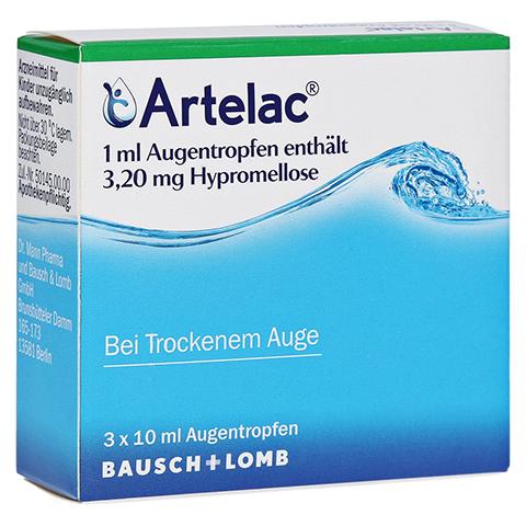 ARTELAC Augentropfen 3x10 Milliliter N3