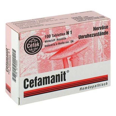 CEFAMANIT Tabletten 100 Stück N1