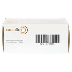 CURCUFLEX Weichkapseln 60 Stück - Oberseite