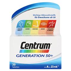 CENTRUM Gen.50+ A-Zink+FloraGlo Lutein Caplette 30 Stück - Vorderseite