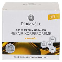DERMASEL Körpercreme Arganöl 200 Milliliter - Vorderseite