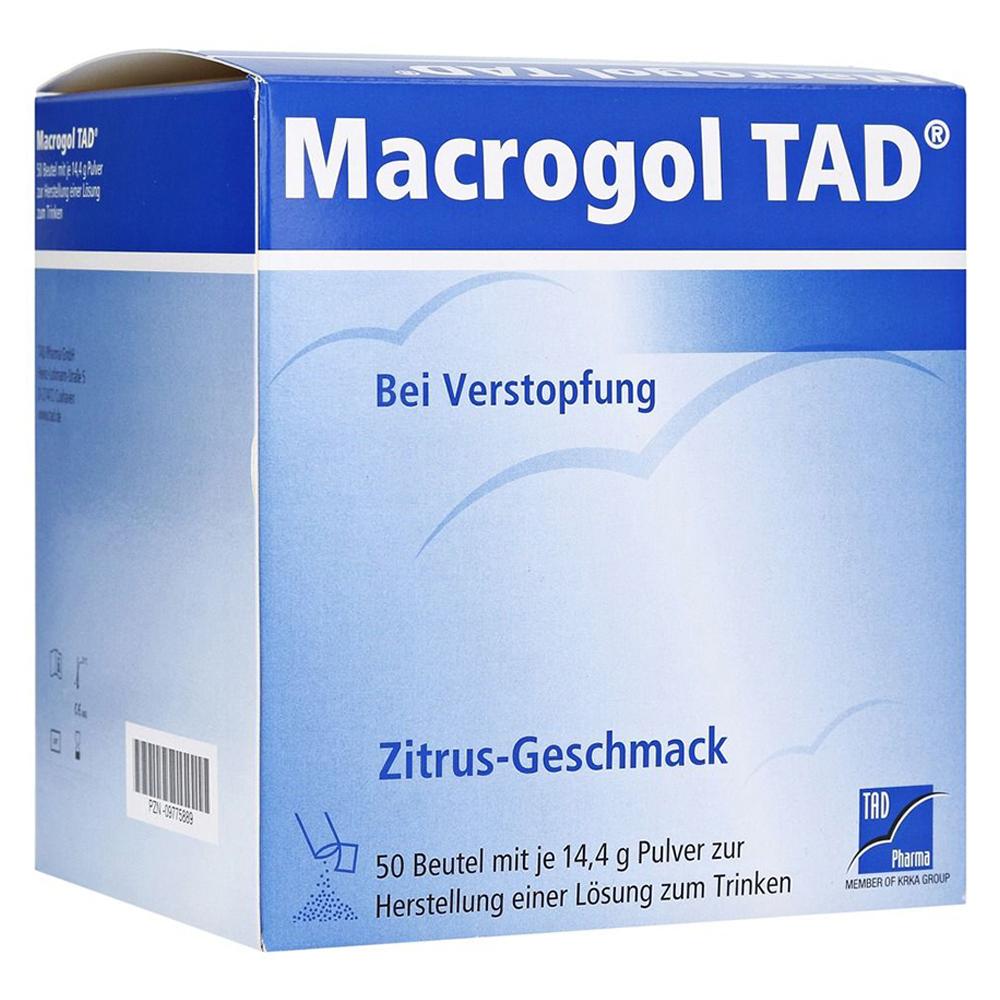 MACROGOL TAD Pulver 50 Stück
