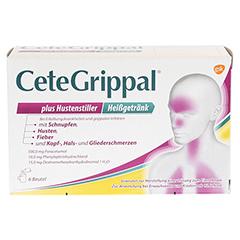 CeteGrippal plus Hustenstiller Heißgetränk 6x15 Gramm - Vorderseite