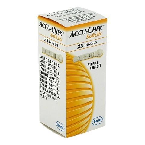 ACCU CHEK Softclix Lancet 25 Stück