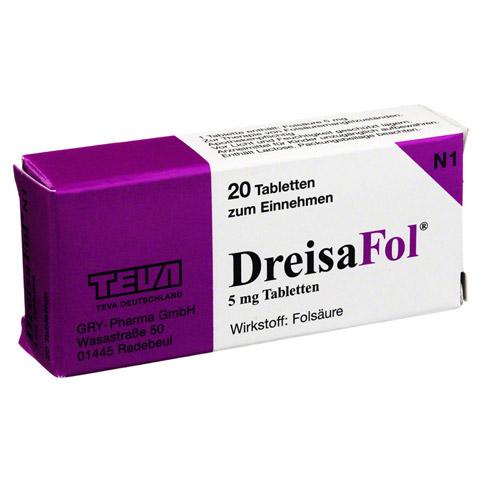 DREISAFOL Tabletten 20 Stück N1