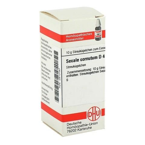 SECALE CORNUTUM D 4 Globuli 10 Gramm N1