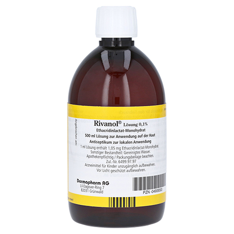Rivanol L�sung 0,1% 500 Milliliter N3