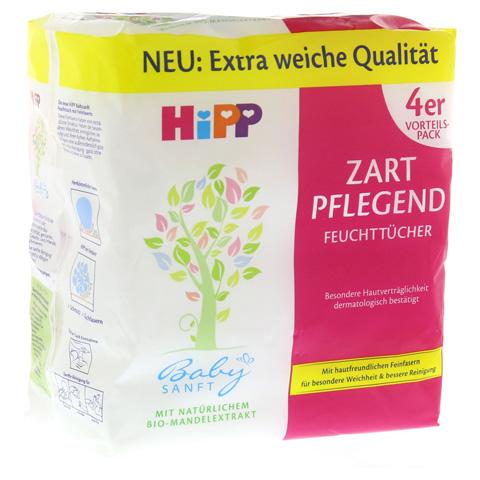 HIPP Baby SANFT Feuchttücher 4x56 Stück