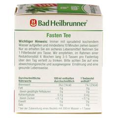 BAD HEILBRUNNER Tee Fasten Filterbeutel 8 Stück - Rechte Seite