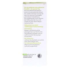 LAVERA mattierende Balancecreme grüner Tee 50 Milliliter - Rückseite