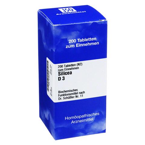 BIOCHEMIE 11 Silicea D 3 Tabletten 200 St�ck N2