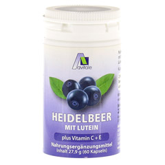 HEIDELBEER KAPSELN+Lutein+C+E 60 Stück