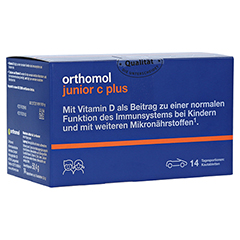ORTHOMOL Junior C plus Kautabl.Mandarine/Orange 30 Stück