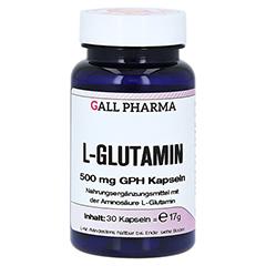 L-GLUTAMIN 500 mg Kapseln 30 Stück