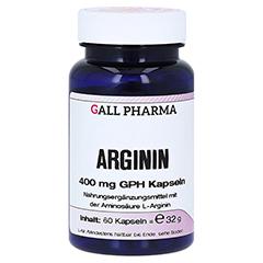 ARGININ 400 mg GPH Kapseln 60 Stück