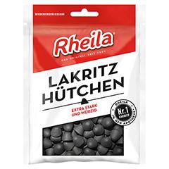 RHEILA Lakritz Hütchen Gummidrops mit Zucker 90 Gramm
