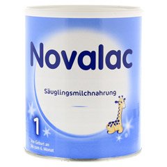NOVALAC 1 Säuglings-Milchnahrung 800 Gramm